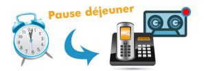 boite vocale standard téléphonique IP