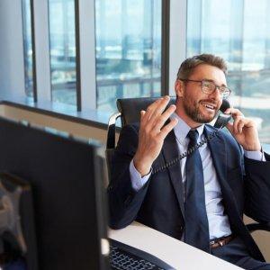 Conférence téléphonique entreprise simple